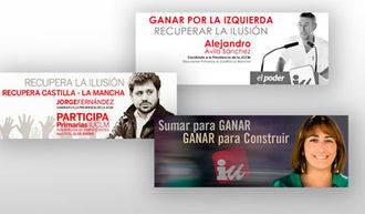 Tres precadidatos de IU quieren ser candidatos a la presidencia de la Junta