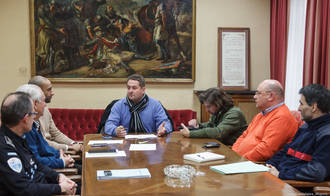El Ayuntamiento de Guadalajara celebra una reunión preparatoria ante la prealerta de nevadas