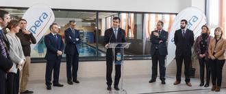 El Alcalde ha inaugurado oficialmente el Centro Acuático Municipal