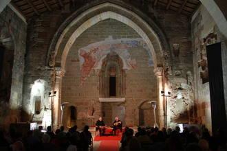 La Iglesia de Santiago se ha convertido en un notable foco cultural de la ciudad de Sigüenza