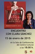 La escritora Clara Sánchez, este jueves en la Casa de la Cultura de Azuqueca de Henares