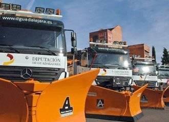 Amplio dispositivo de la Diputación para paliar los efectos del temporal en las carreteras provinciales