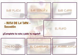 Sacedón acoge este fin de semana su II Ruta de la Tapa, con veintiuna suculentas propuestas gastronómicas para disfrutar