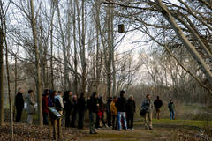 Medio centenar de personas visitaron la Reserva Ornitológica de Azuqueca con motivo del Día de los Humedales