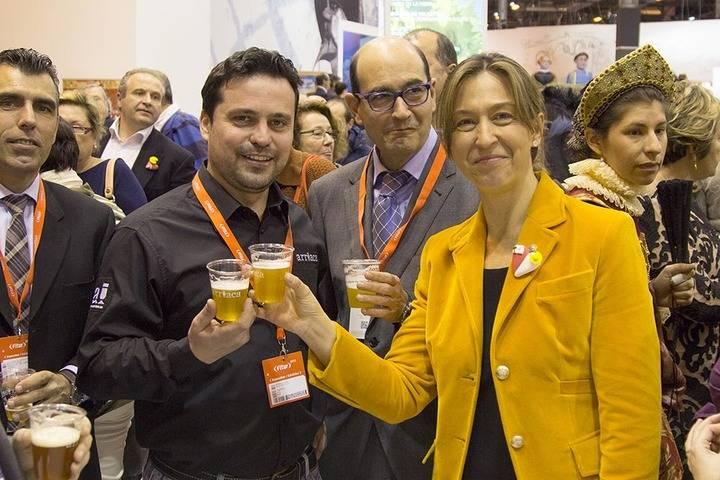 Arriaca presenta en Fitur sus cervezas artesanas