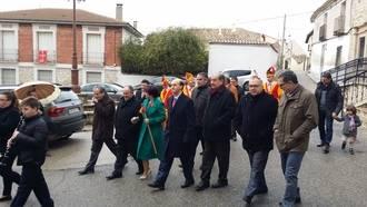 El subdelegado del Gobierno participa en las celebraciones en honor a San Blas en Albalate de Zorita