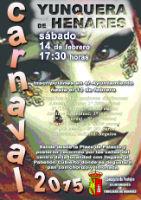 El 14 de febrero Yunquera de Henares se vestirá de fiesta para celebrar el carnaval