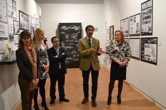 Condado felicita a los alumnos y profesores de la Escuela de Arte de Guadalajara en el X Aniversario del centro