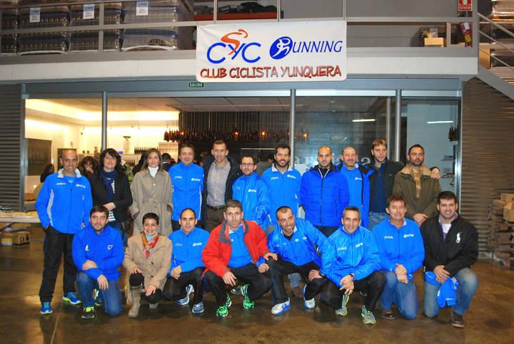 El Club Ciclista Yunquera presenta en sociedad su sección de Running
