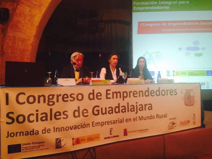 """Ana Guarinos: """"Tenemos magníficos emprendedores a los que tenemos que ayudar para que inicien sus proyectos generadores de empleo"""""""