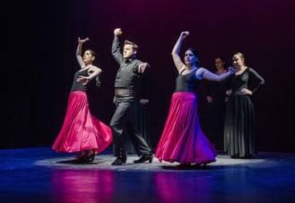 Sentimiento Flamenco vuelve a llenar Marchamalo con un fin benéfico, la lucha contra el cáncer