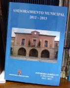 La Diputación hace llegar a los ayuntamientos los informes sobre 'asesoramiento municipal'
