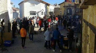 El concurso de puchero en Arbancón da el relevo a los premio botarga del año y a las Candelas