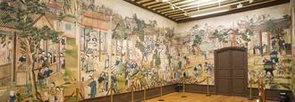 La técnica pictórica del Salón Chino, detalle monumental del mes