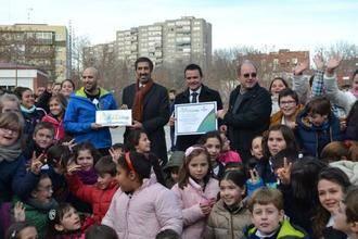 """Juan Carlos Martín destaca en el colegio Diocesano que """"una buena alimentación y la actividad física mejoran el rendimiento escolar"""""""