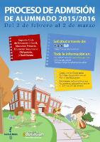 El Gobierno de Castilla-La Mancha abre el proceso de admisión de alumnos para el próximo curso 2015/2016