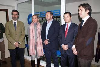Casero se reúne con la Federación Provincial de Turismo de Guadalajara