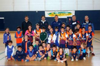 La Liga Benjamín y Prebenjamín de Baloncesto Dama de la Campiña llega a Marchamalo