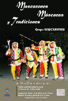 """Exposición de """"Mascarones, Máscaras y Tradiciones"""", en el Teatro Auditorio hasta el día 27 de febrero"""