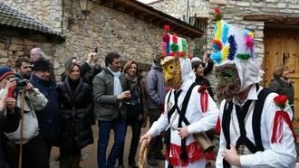 Respaldo institucional en Almiruete a las Fiestas de Interés Turístico