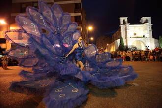Ciento cincuenta personas participan en XXXV edición del Concurso de Disfraces de adultos del Carnaval de Guadalajara