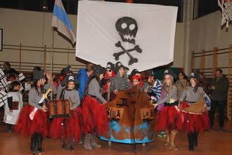 """""""La tripulación de Sir Francis Drake"""", premio al mejor disfraz de grupos en el concurso de Sigüenza"""