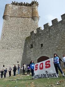 Más de 3.000 firmas en apoyo del castillo de Galve