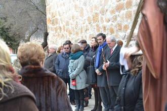 Condado asiste a la procesión de Santa Águeda en Centenera