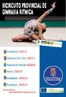 Comienza el Circuito Provincial de Gimnasia Rítmica