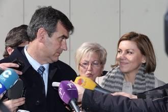 """Cospedal: """"Me siento muy honrada y orgullosa de poder ser otra vez candidata a la presidencia de Castilla-La Mancha"""""""