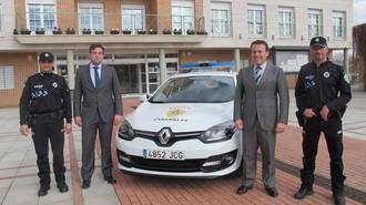 El Ayuntamiento de Cabanillas del Campo implementa los medios materiales de la Policía Local con la adquisición de un nuevo coche patrulla