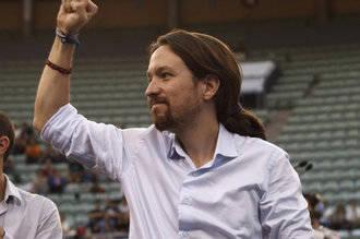 El líder de extrema izquierda, Pablo Iglesias dice que el himno español es una