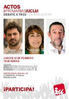La campaña de las Primarias Ciudadanas Abiertas de IU-CLM llega a Guadalajara