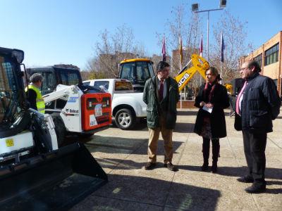 Nueva inversión de la Diputación para mejorar los servicios y garantizar la seguridad de los trabajadores