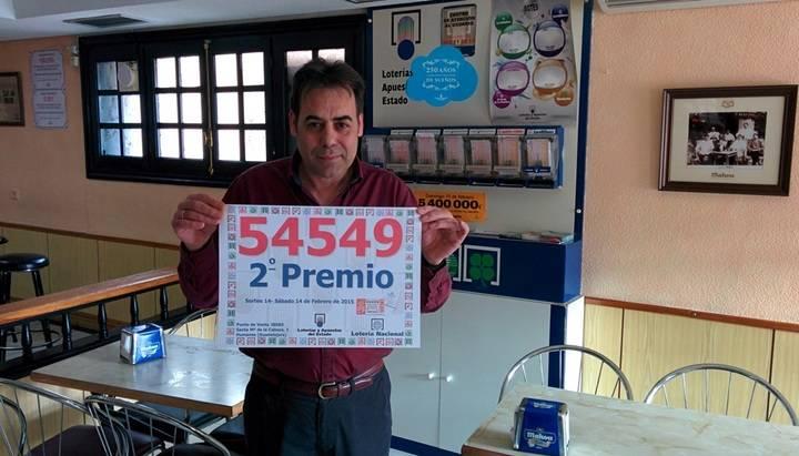 El segundo premio de la Lotería Nacional cae en Humanes