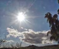 Chubascos intermitentes, sol y viento este sábado en Guadalajara