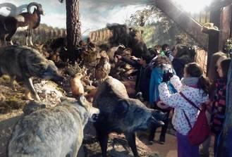 El Geoparque recibió la visita de 63 alumnos del Colegio Teresiano del Pilar de Zaragoza