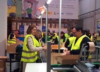 """Cospedal recuerda que Guadalajara es hoy la provincia de España donde se está creando más empleo, """"gracias a que se dan las condiciones óptimas para que los empresarios puedan invertir"""""""