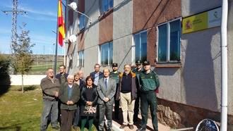 El subdelegado del Gobierno en Guadalajara se reúne con los ediles de la demarcación del puesto de la Guardia Civil de Maranchón