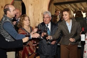 """Cospedal: """"Tenemos que situar la marca Castilla-La Mancha como una marca de calidad que sea conocida y reconocida en todo el mundo"""""""