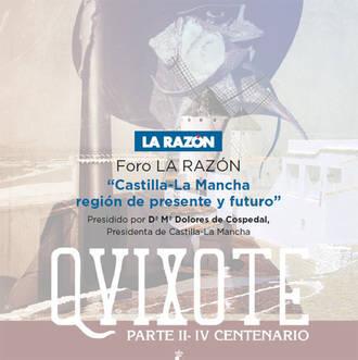 Este lunes, Cospedal en Guadalajara en un Foro Empresarial organizado por La Razón