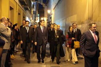 Cospedal asiste al concierto de Ara Malikian y Fernando Egozcue celebrado con motivo de la reapertura del Teatro Moderno de Guadalajara