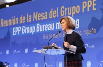 """Cospedal: """"El proyecto del PP ofrece una esperanza esculpida en resultados"""""""