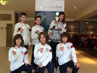 Los chavales de Taekwondo de El Casar se traen algunas medallas
