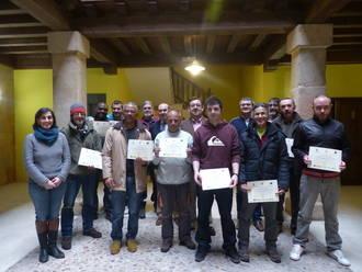 La Diputación entrega los diplomas de los cursos de formación del programa DipuEmplea