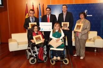 """Echániz: """"Queremos reforzar y dar visibilidad al esfuerzo de superación de las personas con discapacidad"""""""