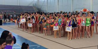 El Circuito 'Diputación de Guadalajara' lleva la fiesta de la gimnasia rítmica a Villanueva de la Torre