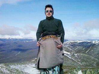 Guadanews llega a lo más alto, al Pico Ocejón