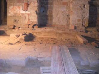 Nuevos hallazgos arqueológicos enriquecen el patrimonio de la Iglesia de Santiago de Sigüenza