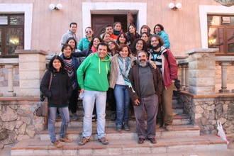 El Geoparque de la Comarca de Molina-Alto Tajo recibe la visita de 23 profesores chilenos